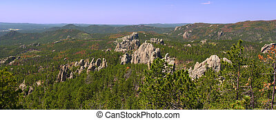 Needles Rock Formations - The Needles rock formations of...