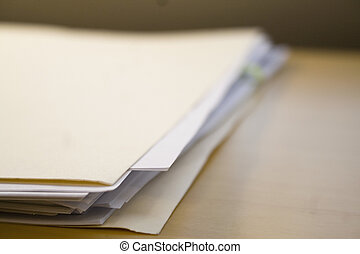 Files - File folder and paper
