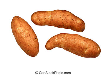 Kipfler Potatoes - The kipfler potato variety is elongated...