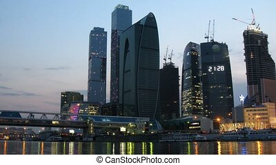 Moscow International Business Center - MOSCOW - APR 27:...
