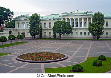 Lithuanian Presidential palace - Presidential palace in...
