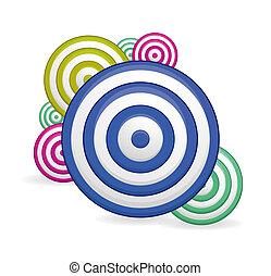 web decorative and colored swirl symbol