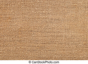 Texture of old sackcloth close up - Closeup of natural...