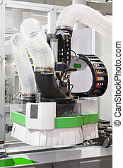 CNC machine - Automated CNC machine for wood in workshop