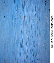 weathered blue painted wood