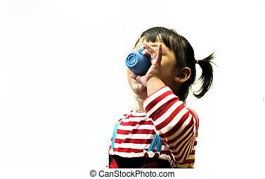 child drink