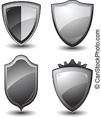 Silver shield design
