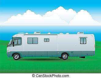 Motorhome rv vehicule