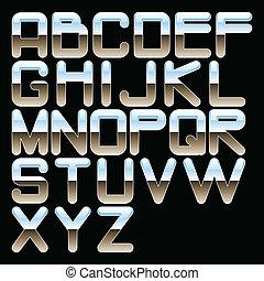 alphabet chrome