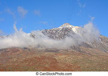 Volcano Pico del Teide, El Teide National Park, Tenerife,...