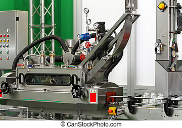 Jar packaging - Packaging machine for glass jars with lids