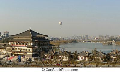Downtown of Xian China