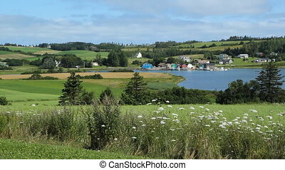 French River, PEI. - View of the community of French River,...