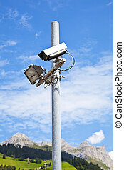 Security Equipment in a Nature Resort