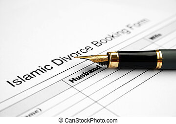Divorce form