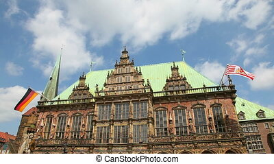 Bremen, Germany - Townhall in Bremen, Germany. World...
