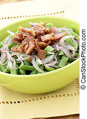 Green bean casserole - A holiday green bean casserole...