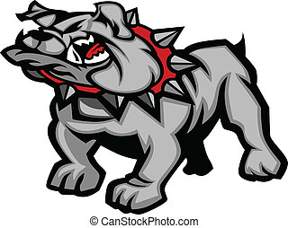 Bulldog Mascot Body Vector Illustra - Graphic Vector Mascot...