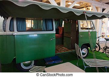 Famous vintage camper van - Famous classic vintage old 60...