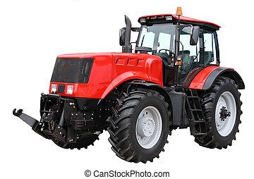 rojo, tractor