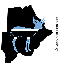 Botswana antelope