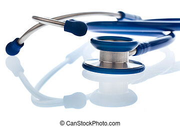Stethoscope a doctor in the hospital