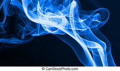real smoke - creative art - real smoke taken in studio and...