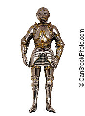 full suit of armour - isolated full suit of armour