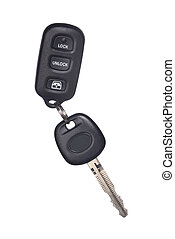 Isolated car key and remote lock device - Isolated car key...