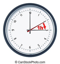 daylight saving time - An image of a nice clock daylight...