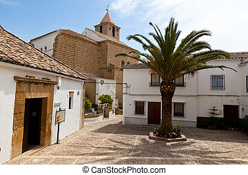 Iznajar in Andalucia, Spain - The small village of Iznajar...