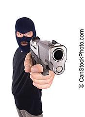 armado, assaltante