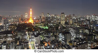 Tokyo Tower - TOKYO, JAPAN - JULY 4: With nearly 35 million...