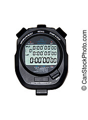 Digital Stopwatch - A modern liquid crystal display...
