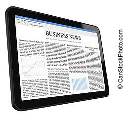 Business, nouvelles, tablette, PC