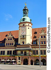 Leipzig Old Townhall 01