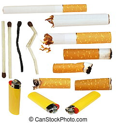 cigarette butts, cigarette, - Big Collection cigarette...