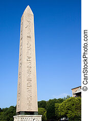 Obelisk of Theodosius (Turkish: Dikilitas), an ancient...