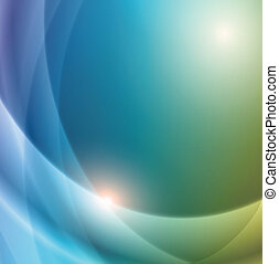 background - Abstract smooth light lines vector background...