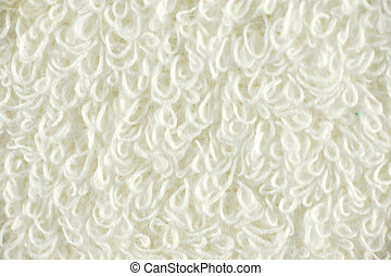 white textile background
