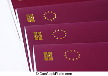 countries of European Union passports, identification...