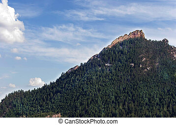 Flatiron Mountains - Scenic view of the Flatiron Mountains...