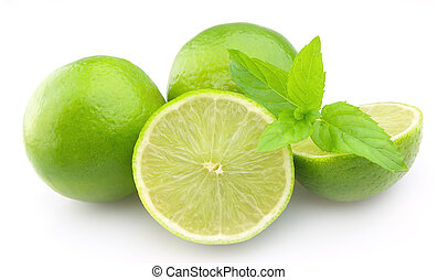 citrus with mint
