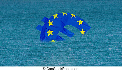 sunken eu - ailing european union sinks
