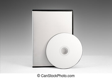 DVD Case - dvd case with blank cover and label