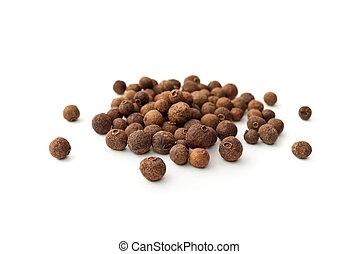 pile of peppercorns