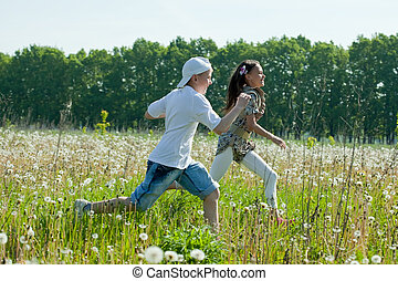 teens runs at meadow