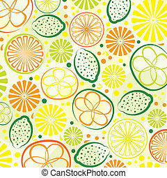 abstract citrus background - vector abstract citrus...