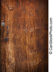 Wood Grain Brown Background