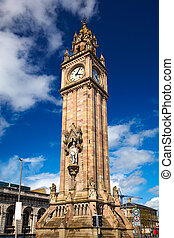 Belfast Albert Clock - Belfast Clock tower - Prince Albert...